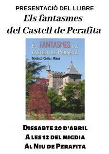 Cartell Els fantasmes del Castell de Perafita